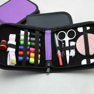 Mini Beginner Sewing Kit Case Set Home Travel Campers Supplies 11