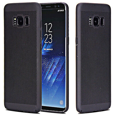 For Samsung Galaxy S8 Plus/S7 Hard Case Thin Shockproof Hybrid Phone Cover Skin 3