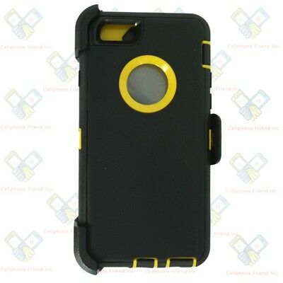 For Apple iPhone 6S/6S Plus Case Cover{Belt Clip Holster fits Otterbox Defender} 2