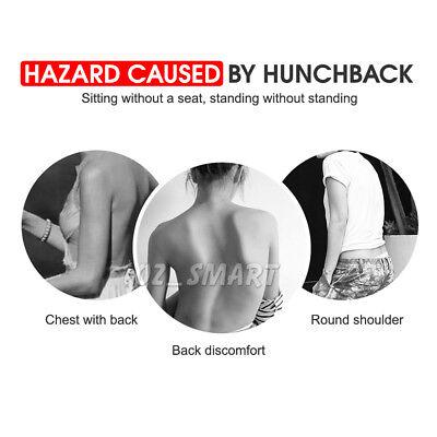 Posture Corrector Adjustable Men Women Shoulder Brace Back Support Strap Belt 2