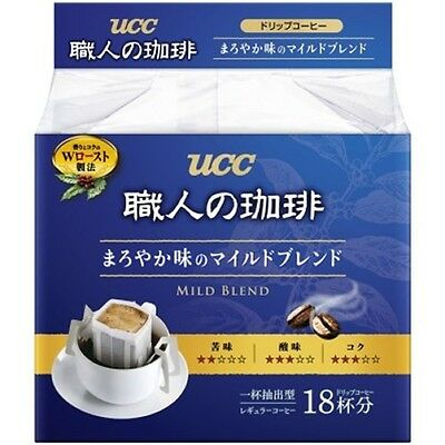 UCC Japan Instant Drip Coffee Craftsman Richness Aroma Blend 18 packs from Japan 3