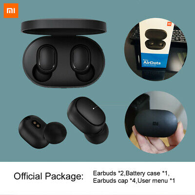Bluetooth 5.0 Xiaomi Redmi AirDots Wireless TWS Earphone Active Earbuds Headset 2