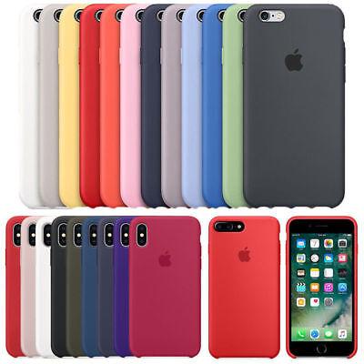 Genuine Original OEM Silicone Case Cover For iPhone XR XS Max 7 8 6s Plus 5S SE 4