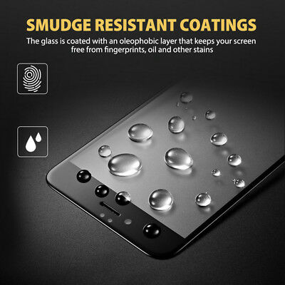For Apple iPhone 7 8 Plus - 6D Full Cover Curved Tempered Glass Screen Protector 6