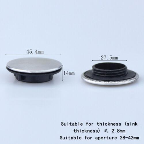 Frou de robinet d'évier obturateur bouchon plaque de recouvrement disque poli BF 2