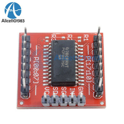 PCF8575 IIC I2C I/O Extension Shield Module 16 bit SMBus I/O ports For Arduino 11