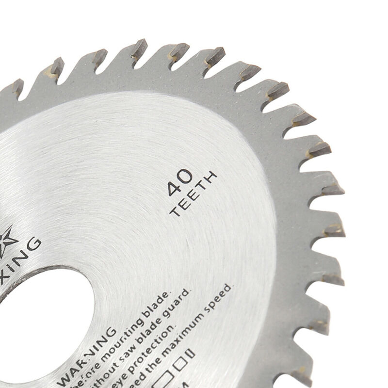 1xSaw Lame Disque pour Meuleuse Angle 115mm TCT Bois Coupe Circulaire 40Teeth