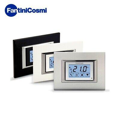 3S Termostato Ambiente Da Incasso Touchscreen A Batterie Ch121Ts Fantini Cosmi 2