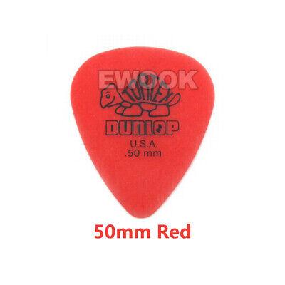 6X / 12X Jim Dunlop Tortex Standard Plectrums Mixed Pro Gauges Guitar Picks AU 6