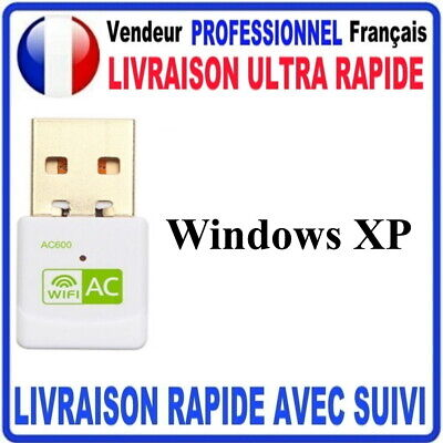 CLE USB WIFI ADAPTATEUR 600 Mbps DONGLE USB DOUBLE BANDE 5
