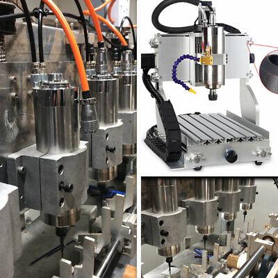 Water-cooled 2.2KW Spindle Motor ER20 D80MM&3.7KW VFD Inverter&Pump&Bracket Kit 9