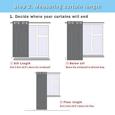 3D Moon Deer 103Blockout Photo Curtain Printing Curtains Drapes Fabric Window CA 6