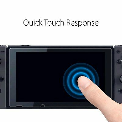 Genuine Spigen GLAStR 9H Tempered Glass Screen Protector for Nintendo Switch 2PC 9