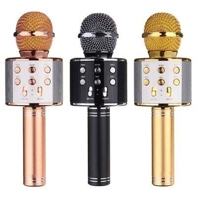 Microfono Wireless Con Altoparlante Cassa Integrata Bluetooth Portatile Karaoke 6