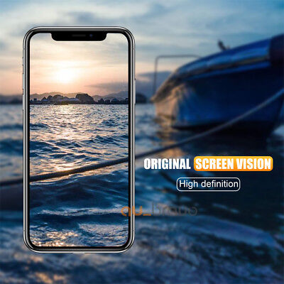 Tempered Glass Screen Protector For Apple iPhone X XS Max XR 8 7 6 6S Plus 5S SE 6