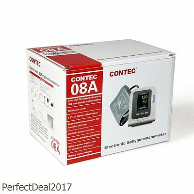 Contec08A Automatic Digital Blood Pressure monitor Neo/Infatn/Child/Adult 4 Cuff 9
