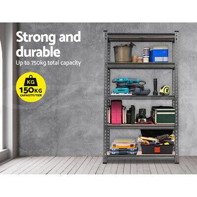 Giantz 0.7M Warehouse Racking Metal Steel Shelving Garage Storage Shelves Racks 4