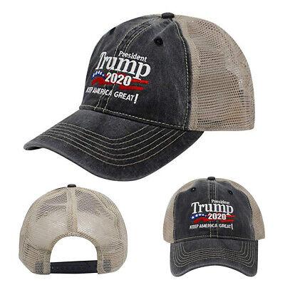 Donald Trump Republican 2020 Cap Adjustable Summer Hat Keep Make America Great 3