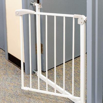 LIVINGbasics® Walk Thru Baby Safety Auto Close Stair Gate, 71*76*2.5 cm 2