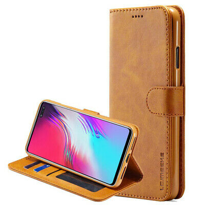 Samsung Galaxy S10 Plus 5G S10e S8 S9 Note8 9 10+ Wallet Case Leather Flip Cover 9