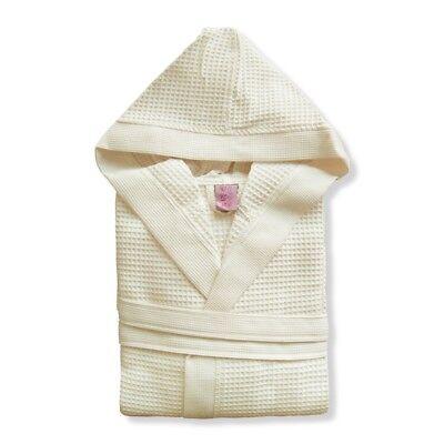 Accappatoio uomo/donna con cappuccio nido d'ape TOP QUALITY 100% cotone mod.CLUB 3