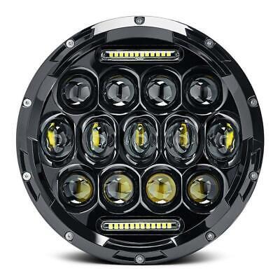 2X 7 Inch Round 280W Total LED Headlights Hi/Lo for 97-17 JEEP JK TJ LJ Wrangler 4