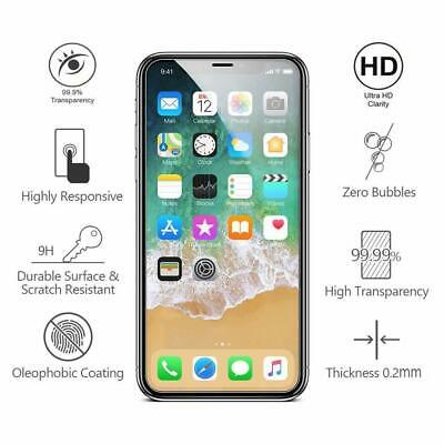 Premium Tempered Glass Screen Protector for iPhone XS XR 11 11 Pro Max (2 Pack) 2