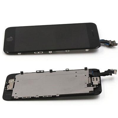 Display LCD für iPhone 6 RETINA VORMONTIERT Komplett Bildschirm Front Schwarz 2