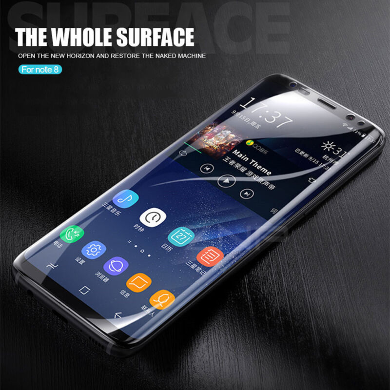 HYDROGEL AQUA FLEX Soft Film Screen Protector for Samsung Galaxy S8/S9+Note 9 10