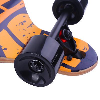 "41""Inch Longboard Skateboard Drop Longboard Cruiser Through downhill Complete 7"