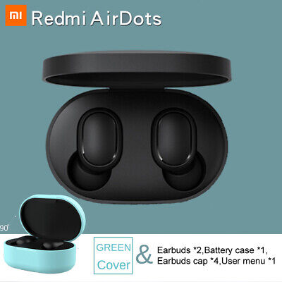 Bluetooth 5.0 Xiaomi Redmi AirDots Wireless TWS Earphone Active Earbuds Headset 4