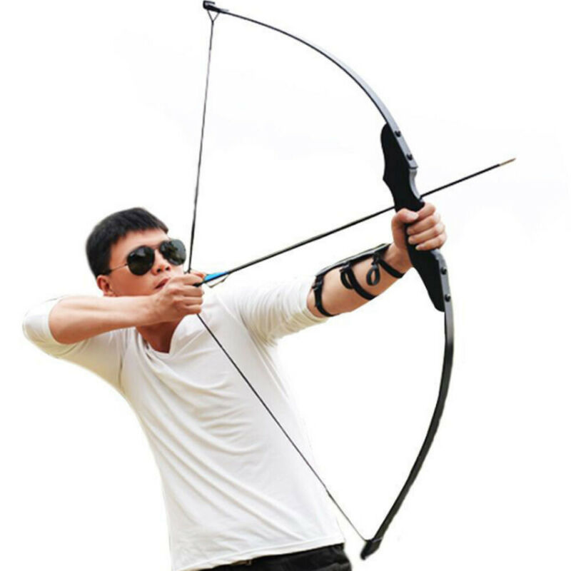 """54/"""" 40 lbs Archery Hunting Recurve Compound Bow Shooting Longbow Right Handed"""