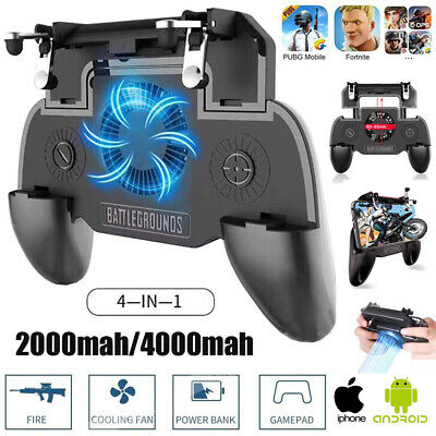 PUBG Mobile Phone Game Controller Joystick Cooling Fan Gamepad for IOS Android 2