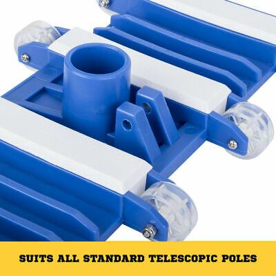 Flexible Vacuum Head Pool Spa Vac Wheels Flexible Frame Heavy Duty 6