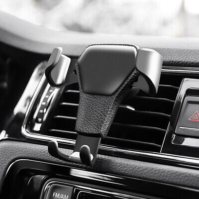 Car Air Vent Mount Phone Holder Cradle Gravity Stand for iPhone Samsung LG UK 12