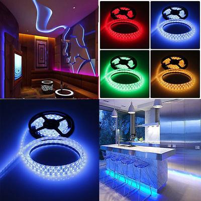1-30M LED Stripe RGB Leiste Streifen 5050 Band IP65 Wasserdicht Lichterkette 12
