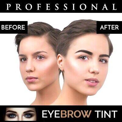 Professional EYEBROW HENNA Brow Eyelash TINT Dye Cream Black Brown Graphite 15ml 9