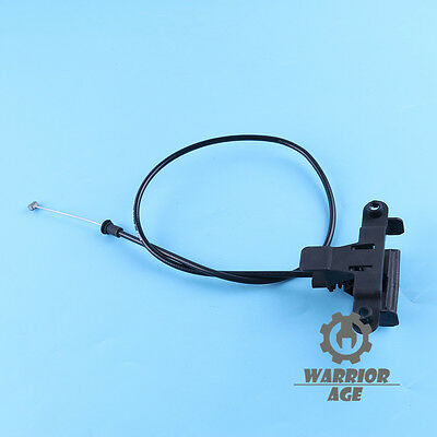 Hood Safety Catch Pull Handle with Cable for BMW E70 E71 X5 X6 2007-2014
