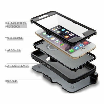 Case For iPhone 6&6S / iPhone 6 Plus & 6S Plus(Clip Fits With Otterbox Defender) 2