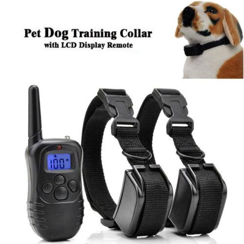 300M Electric Anti-Bark Shock Collar Dog Training Remote Control Anti-Barking 3