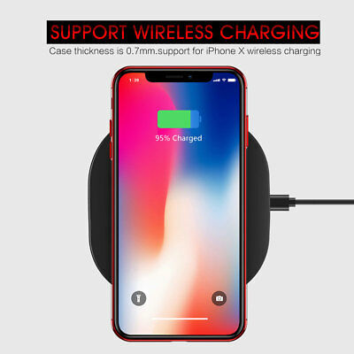 iPhone X XS MAX XR 8 7 Case Shockproof Soft Bumper Tough Gel Clear Cover Apple 9
