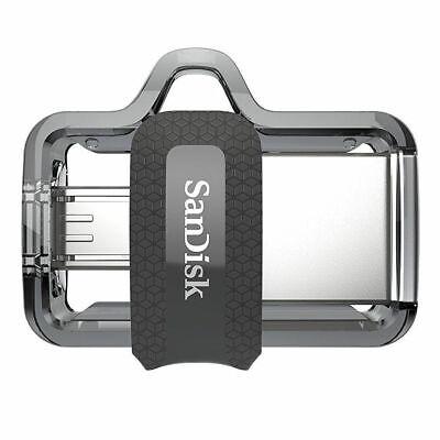 SanDisk ULTRA DUAL USB m3.0 16GB 32GB 64GB 128GB USB OTG Flash Memory Pen Drive 3