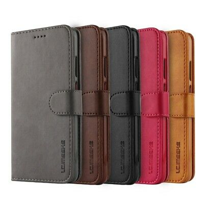 Samsung Galaxy A20 A30 A50 A70 Velvet Wallet Case Flip Card Slots Classic Cover 4