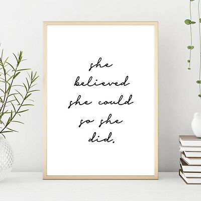 Banana Leaves Canvas Painting Wall Art Poster Quotes Nordic Print Home Decor 4