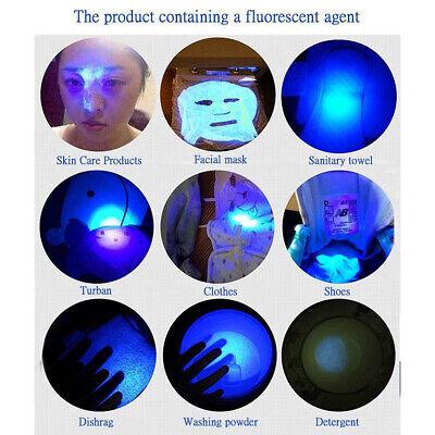 UV Ultra Violet LED Flashlight Blacklight Light 395 nM Inspection Lamp Torch 6