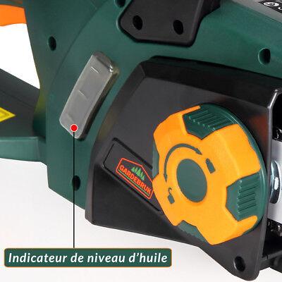 Tronçonneuse électrique max. 2800W guide-chaîne 46cm frein 16m/s 4kg 11