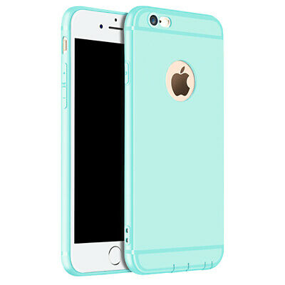 Coque Anti Choc Silicone Protection Pour Apple Iphone 6 6S 7 8 Plus 5S Se Xs Max 6