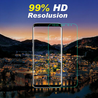 3x Galaxy S8 S8 Plus Flex Full Coverage Soft TPU Screen Protector For Samsung 2