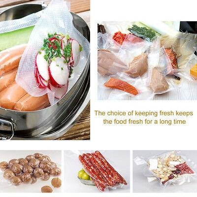 6 X 28Cm Vacuum Sealer Rolls Food Storage Saver Heat Seal Cryovac Commercial Bag 10