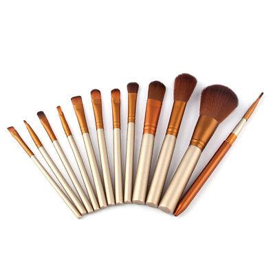 12Pcs Pro Kabuki Makeup Brushes Set Foundation Powder Eyeshadow Blending Brush 5